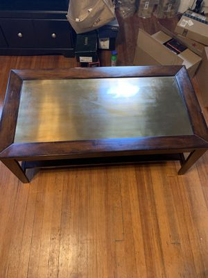 Copper Top Coffee Table or TV stand for Sale in St. Louis, MO