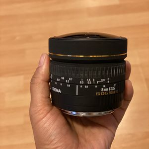 Sigma 8mm 3.5 for Sale in San Jose, CA