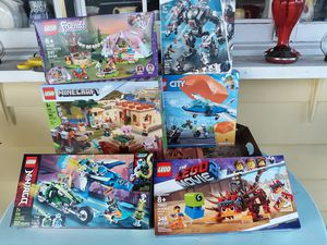 Brand new legos still in box never used. Selling as a bundle for Sale in Sumner, WA