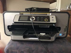 Kodak printer/ metal desk / sectional with reclining seats for Sale in Laveen Village, AZ