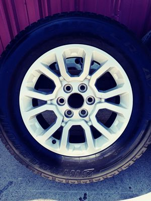 Chevy tires and rims for Sale in Keyes, CA