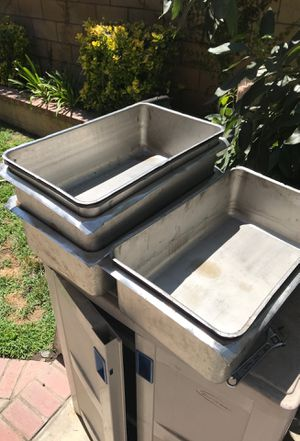 Deep Steam pans for Sale in Upland, CA