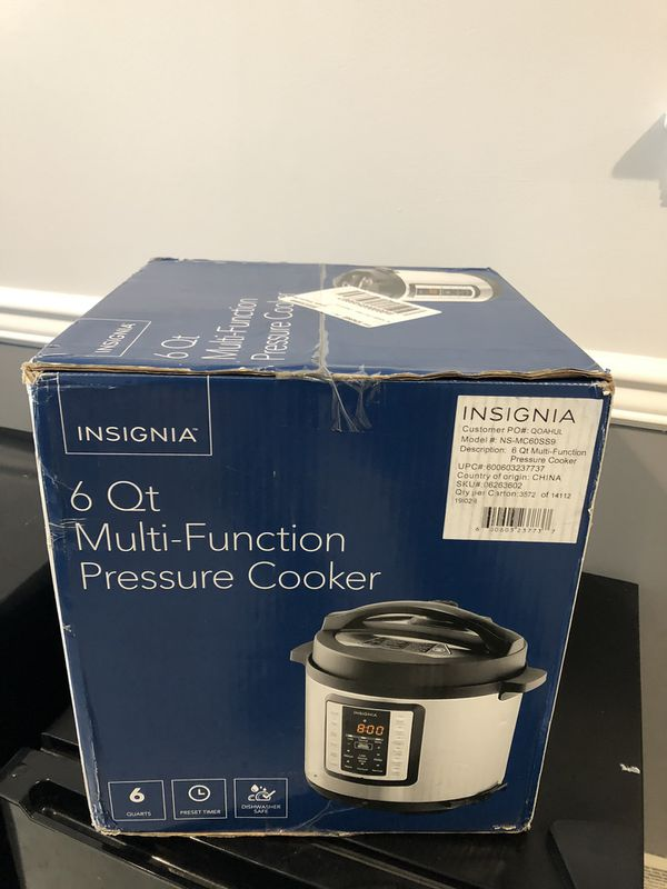 Insignia Pressure Cooker/Instant-a-Pot for Sale in Exton
