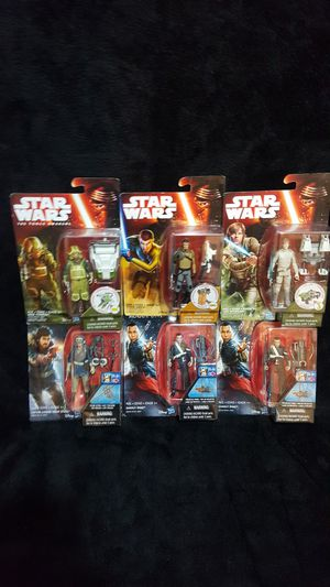 STAR WARS ACTION FIGURES for Sale in Woodway, WA