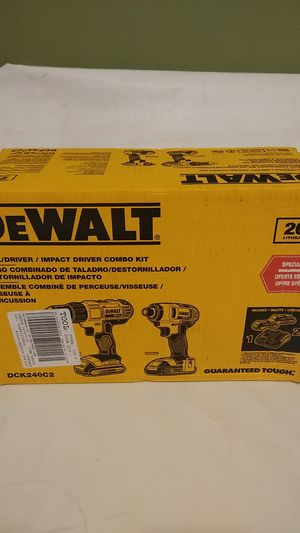 Drill/driver, Impact driver and Reciprocating Saw Combo kit. for Sale in Calexico, CA