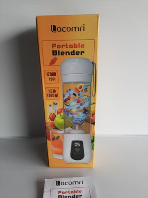 Portable Blender Lacomri Powerful Crusher for Frozen Fruits and Veggies Cordless for Sale in Houston, TX