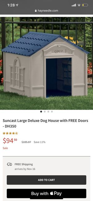 Dog house for large dogs for Sale in Daly City, CA