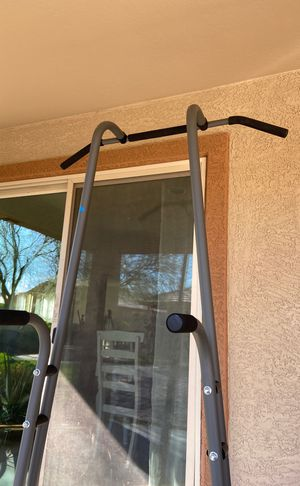 Pull up bar tower! With dip station! for Sale in Goodyear, AZ