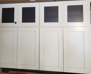 2 Wall cabinets 33 wide x 48 high for Sale in Eddington, PA