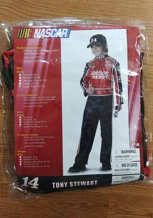 NEW Tony Stewart Costume size 14 (kid). $20. for Sale in Marysville, WA