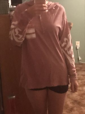 Pink by Victoria Secret pullover hoodie size small for Sale in Houston, TX
