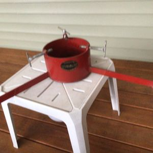 Christmas Tree Stand And Waterer for Sale in East Jordan, MI