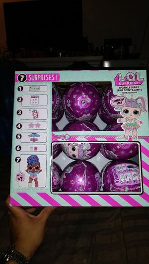 BRAND NEW IN PACKAGE NEVER OPENED LOL SURPRISE DOLLS SPARKLE SERIES for Sale in Tacoma, WA