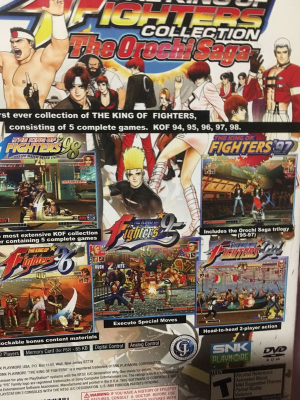 The king of fighters collection the orochi saga complete