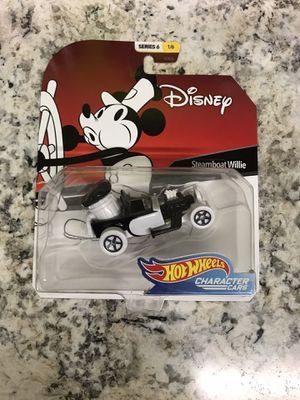 Disney Steamboat Willie Hot Wheels Character Car for Sale in Corona, CA