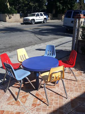 Kindergarten table set for Sale in Irwindale, CA