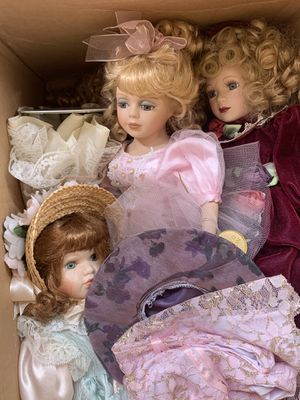 Glass dolls for Sale in Snohomish, WA