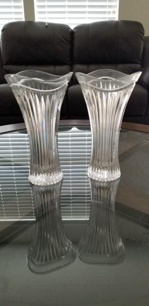 Crystal Vase Set for Sale in Manassas Park, VA
