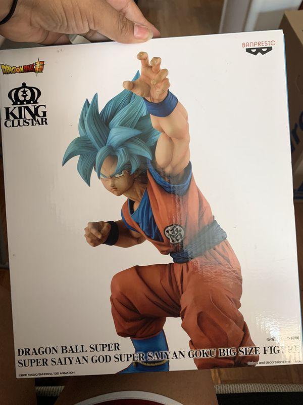 New dragon ball z figure