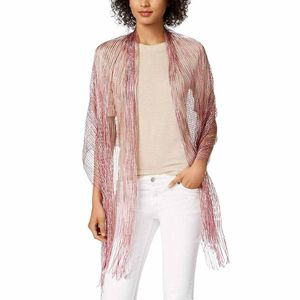 Inc International Concepts Space-Dyed Metallic Wrap (Pink) for Sale in Norfolk, VA