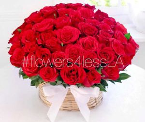 Flowers 50 Red Roses Arrangement for Sale in Los Angeles, CA