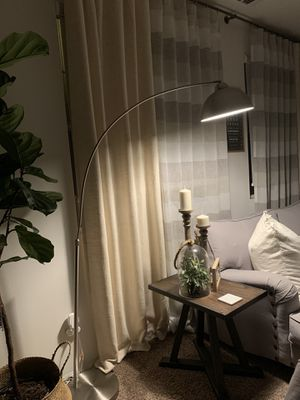 Floor lamp brushed nickel for Sale in Fontana, CA