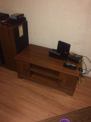 Wood T.V. Stand for Sale in Cleveland, OH