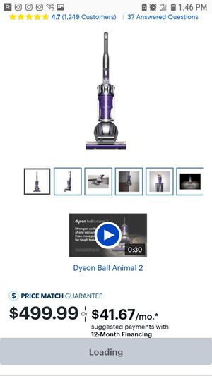Dyson Vacuum Ball Animal 2 for Sale in Silver Spring, MD