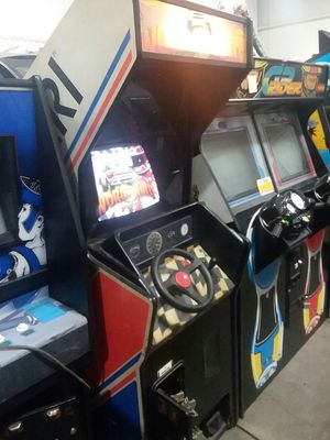 Atari World Rally upright arcade racing game - working for Sale in Columbus, OH