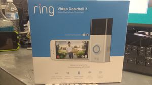 Ring video doorbell 2 in factory box for Sale in Mesa, AZ