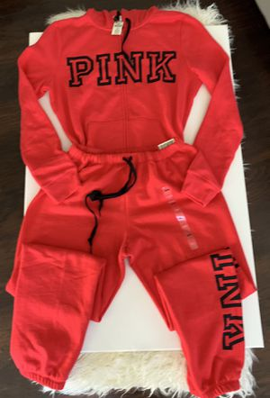 Victoria's Secret Pink Full zip Hoodie/Sweats for Sale in Bell, CA