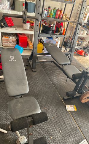 Bench set,weights, incline bench for Sale in Deltona, FL
