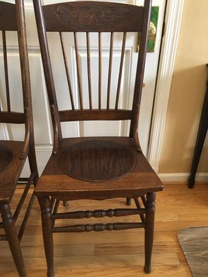 Antique chairs (4) $25.00 for all for Sale in Chantilly, VA
