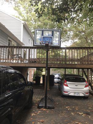 "Lifetime 48"" portable acrylic basketball hoop for Sale in Richmond, VA"