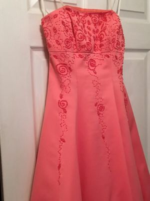 Salmon Ballgown Prom Dress for Sale in Blackwood, NJ