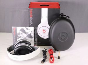 Beats by Dr. Dre Studio Wired Over-Ear Headphones White  Pre owned for Sale in San Diego, CA