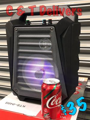 Bluetooth Portable Work Speaker • New In Box • Super Loud • Easy to Carry 💥 Same Day Delivery* 💥 for Sale in Gardena, CA