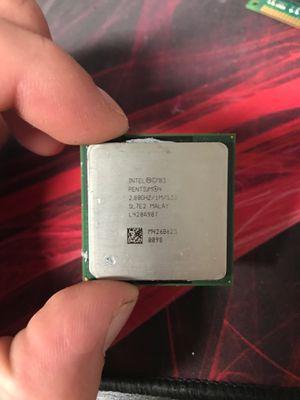 Intel pentium 4 2.8ghz processor for Sale in Georgetown, TX