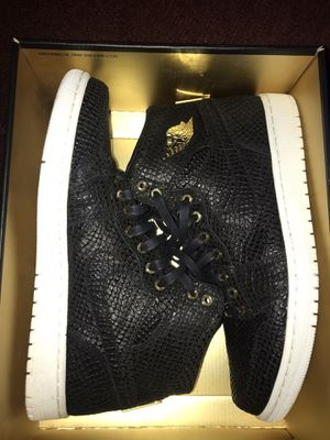 "Jordan 1 - ""BLACK PINNACLE"" SPECIAL EDITION. SIZE 12 . Price $400 for Sale in Queens, NY"