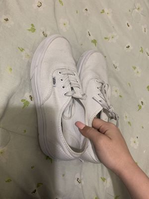 Classic white vans (size 7) for Sale in San Diego, CA