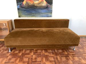 Big mid century couch with storage for Sale in Inglewood, CA