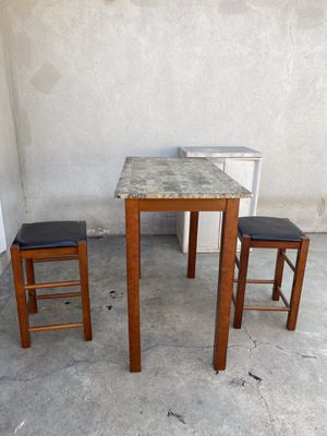 Breakfast Table With 2 Stools for Sale in Montebello, CA
