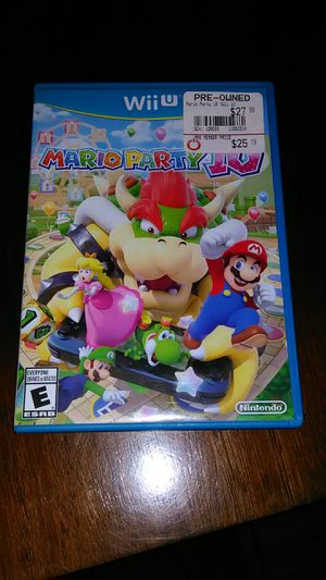 Nintendo Wii U 4 Game Bundle See Pics Mario Party for Sale in Peoria, AZ