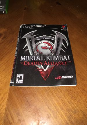 Mortal Kombat Deadly Alliance - Sony PS2 for Sale in Huntington Park, CA