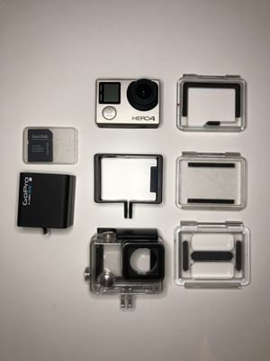 GoPro Hero4 with accessories for Sale in Lakeland, FL