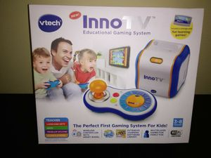 Brand New Kids InnoTV Gaming Center by VTech for Sale in Lithonia, GA