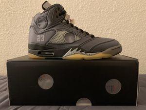Off White Jordan 5 for Sale in West Covina, CA