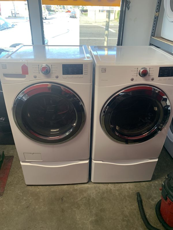 Kenmore washer and dryer set