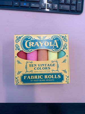 Crayons Fabric Rolls for Sale in Gonzales, LA