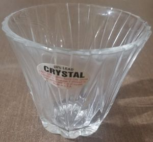 24% Lead Crystal votive candle holder for Sale in Three Rivers, MI